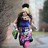 Sukne - Origo sukňa kvety čary mary - limit - 12708525_