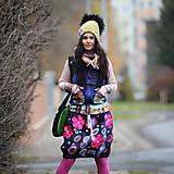 Sukne - Origo sukňa kvety čary mary - limit - 12708527_