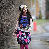 Sukne - Origo sukňa kvety čary mary - limit - 12708530_