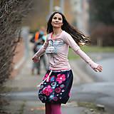 Sukne - Origo sukňa kvety čary mary - limit - 12708533_