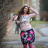 Sukne - Origo sukňa kvety čary mary - limit - 12708535_