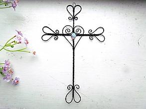 Dekorácie - nástenný krížik *20 cm - 12704873_