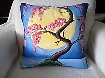 Úžitkový textil - Vankúš - Sakura Japan - 12711370_