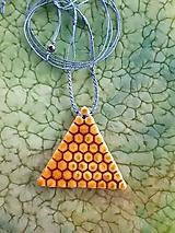 Náhrdelníky - Triangel - 12713383_