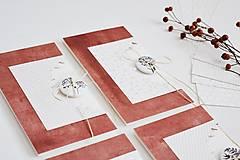 Papiernictvo - Gratulačný pozdrav s gombíkom - 12712731_