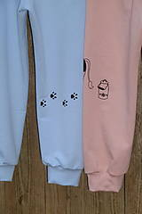 Detské oblečenie - Bledomodré tepláčky Havko - 12711538_