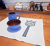 Úžitkový textil - Prestieranie - Smotanové s tulipánmi ♥♥ - 12711882_