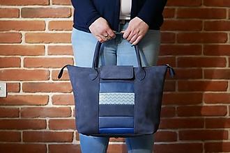 Veľké tašky - Kožená kabelka - Nora - 12709702_