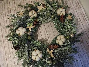 Dekorácie - Vianočný veniec - 12710117_