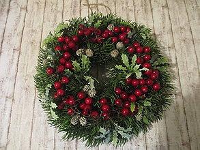 Dekorácie - Vianočný venček - 12710290_