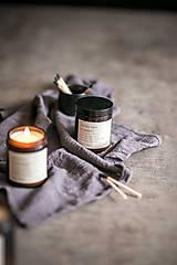 Svietidlá a sviečky - Sójová sviečka - Divoká ruža a jazmín - 12710319_