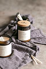Svietidlá a sviečky - Sójová sviečka - Grapefruit a lemongrass - 12710410_