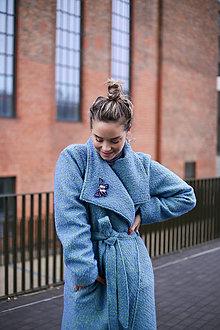 Kabáty - KABÁT BLUE - 12709447_