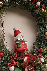 Dekorácie - Vianočný maxi veniec - 12712068_