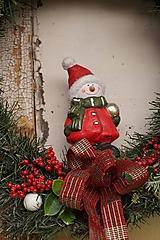 Dekorácie - Vianočný maxi veniec - 12712072_