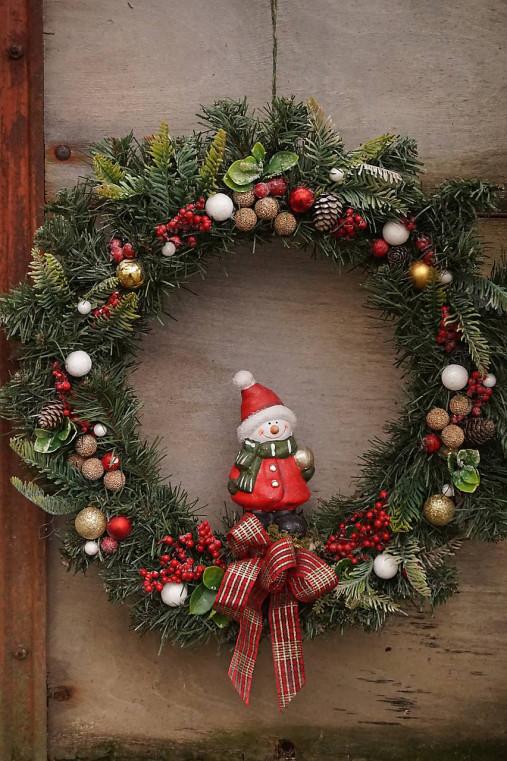 Vianočný maxi veniec
