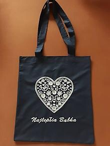Nákupné tašky - Taška pre Babku - 12709720_