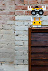 Dekorácie - Frankie - drevená dekorácia - 12710511_