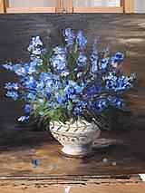 Obrazy - Kvety vo váze - 12710363_