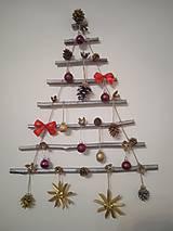 Dekorácie - Dekorácia z dreva - vianočný stromček - 12709121_