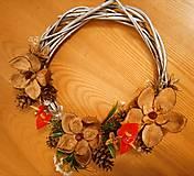 Dekorácie - Jesenný venček na dvere - 12709168_