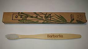 Pomôcky - Bambusová kefka s menom - 12713281_