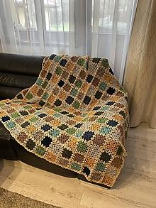 Úžitkový textil - patchWORK  DEKA/PREHOZ no.8 - 12711453_