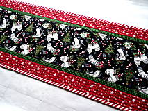 Úžitkový textil -  Farmhouse Christmas... obrus - 12716147_