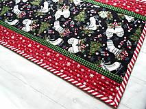 Úžitkový textil -  Farmhouse Christmas... obrus - 12716148_