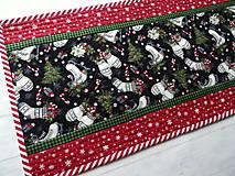Úžitkový textil -  Farmhouse Christmas... obrus - 12716149_