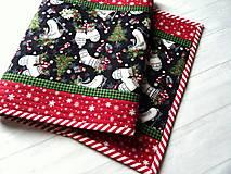 Úžitkový textil -  Farmhouse Christmas... obrus - 12716150_