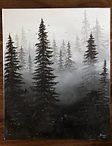 Obrazy - Tajomný les - 12714836_