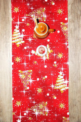 Úžitkový textil - vianočný stredový obrus - behúň - 12716114_