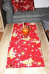 Úžitkový textil - vianočný stredový obrus - behúň - 12716129_