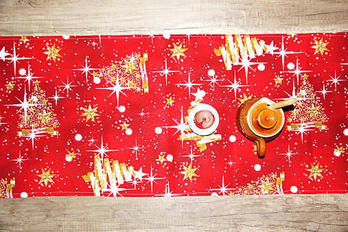vianočný stredový obrus - behúň