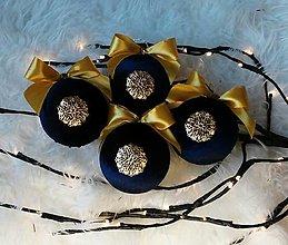 Dekorácie - Vianočné gule - 12715724_