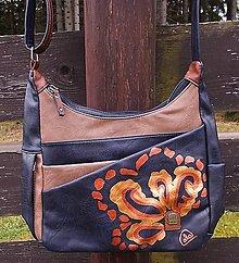 Kabelky - Maľovaná kabelka 51 - 12716943_