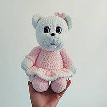 Hračky - Háčkovaná medvedica podľa fotky (neprevzatá objednávka) - 12714834_