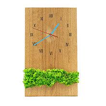 Hodiny - Machové hodiny (Modrá) - 12715142_