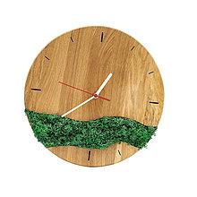 Hodiny - Machové hodiny (Biela) - 12715550_