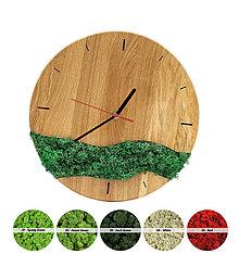 Hodiny - Machové hodiny (Čierna) - 12716188_