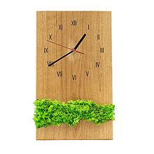 Hodiny - Machové hodiny (Čierna) - 12718317_