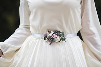 """Opasky - Kvetinový opasok """"láska, čo nezovšednie"""" - výpredaj z 21€ - 12718351_"""