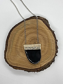 Náhrdelníky - Keramický náhrdelník - 12715208_