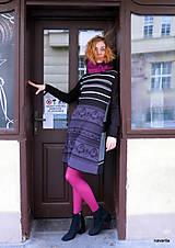 Šaty - HÁTA- RETRO šaty z odpadu - 12714649_