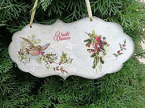 Tabuľky - veselé vianoce 4 - 12715363_