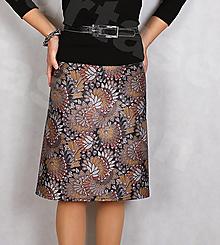 Sukne - Sukně z krásné rifloviny  vz.711 - 12722460_