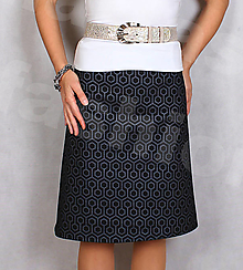 Sukne - Sukně z krásné rifloviny  vz.712 - 12722539_