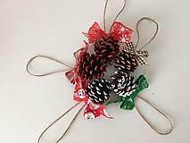 Dekorácie - Vianocne sisky - 12721936_