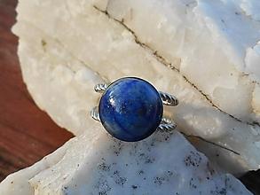 Iné šperky - LAPIS LAZULI-sponka na šatku - 12722793_